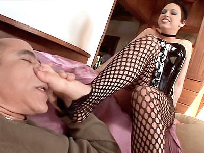 Dominant Pornstar in pantyhouse