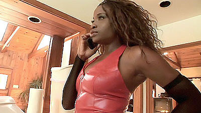Is there a hotter black babe than Monique Shes an incredibly hot and busty black babe that likes to act slutty and dress the part Monique welcomes us into her home and gives us a quick tour of her house before she takes us to her bathroom to hit on us